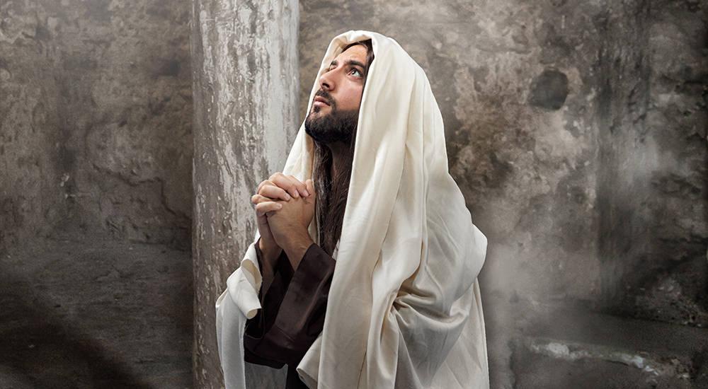 Cuando Jesús Oró