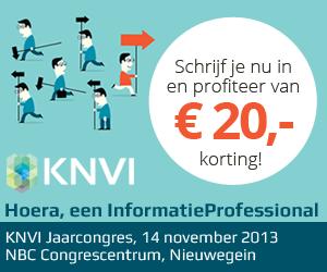 KNVI_jaarcongres2013, square 300x250 px. URL: http://www.knvi.info/#!register/c24vq