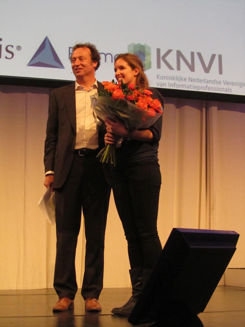 Scriptieprijs 2013 voor Sophie Boisvert-Hearn