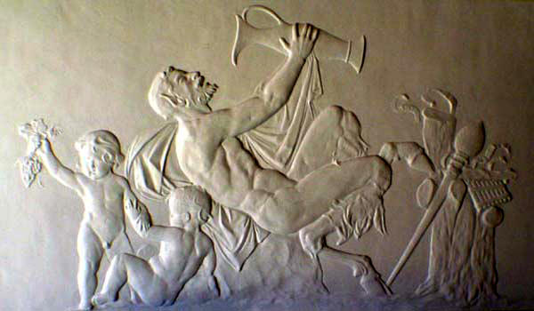 Example of wall sculpture (artist unknown)