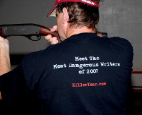 Jim sporting some fine Killer Year swag