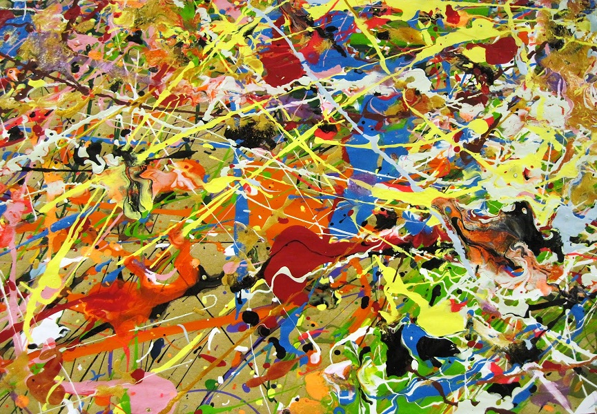 Truly, Jackson Pollock was the father of Smatterings, was he not?