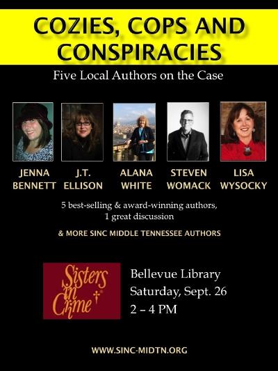 Cozies, Cops, & Conspiracies