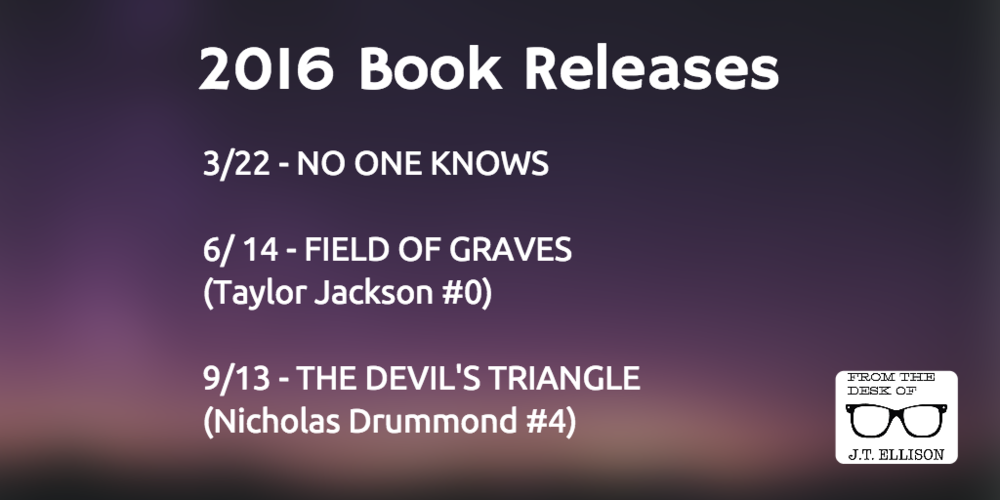 2016 Book Releases