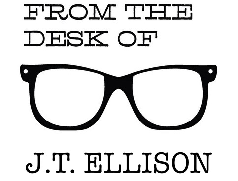 JT Ellison logo