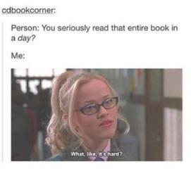 Weird things book lovers do