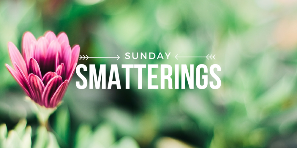 Sunday Smatterings 7.10.16