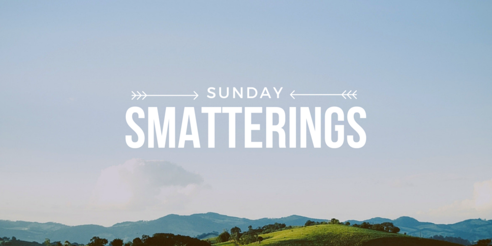 Sunday Smatterings 7.17.16