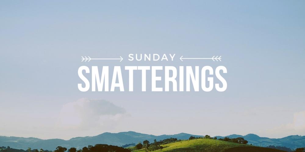 Sunday Smatterings 7.17.16