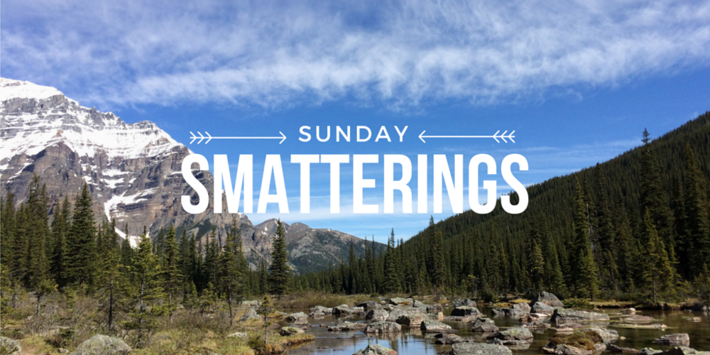 Sunday Smatterings 7.24.16
