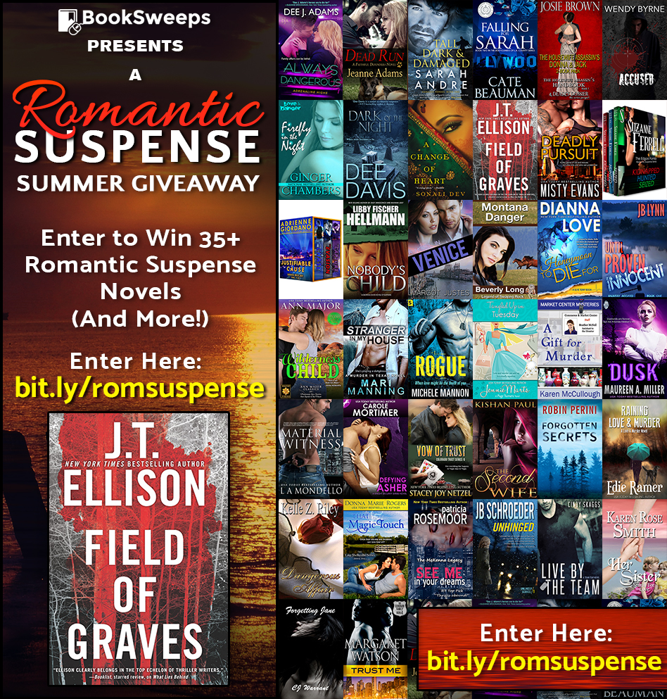 Book Sweeps Romantic Suspense Giveaway