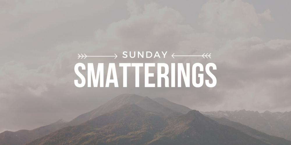 Sunday Smatterings 8.21.16