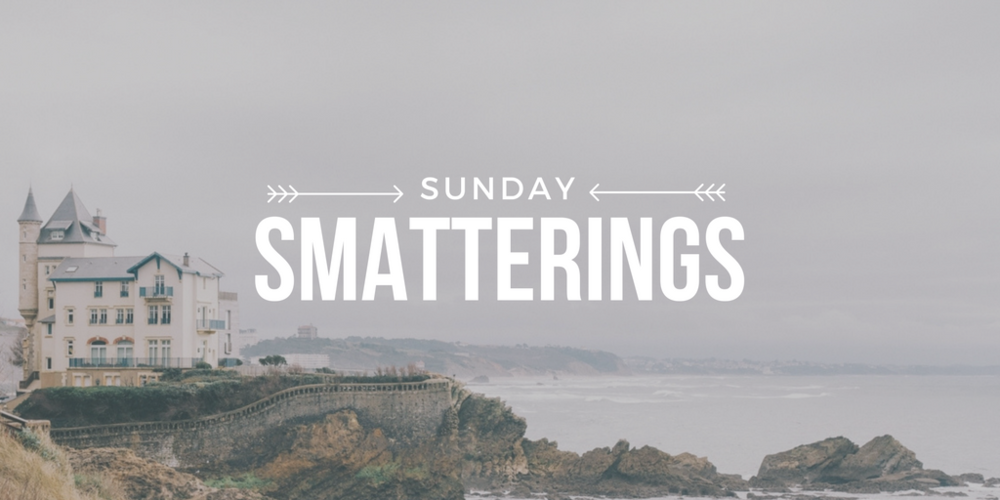 Sunday Smatterings 11.20.16