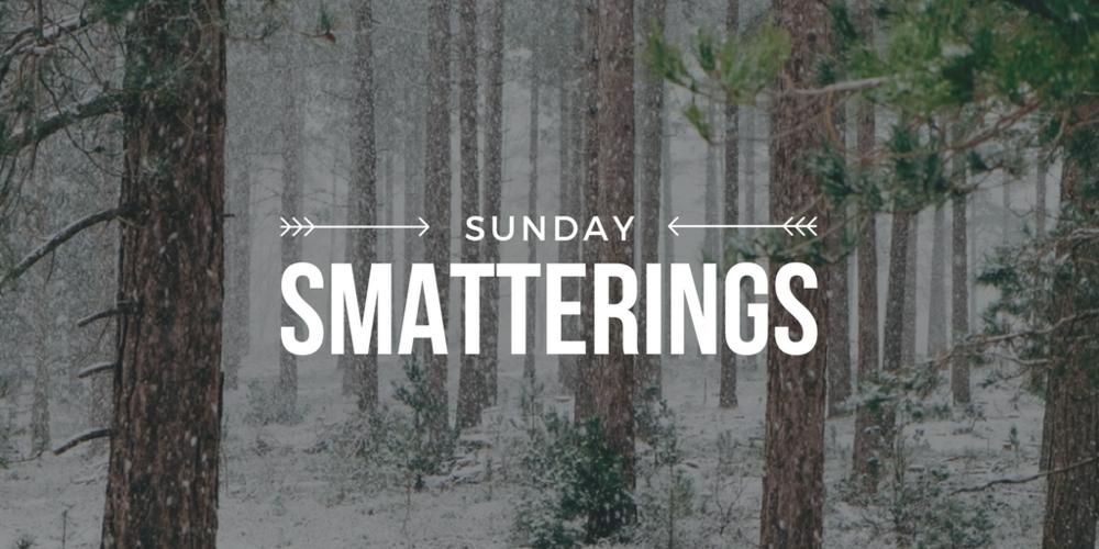 1.15.17 - Sunday Smatterings