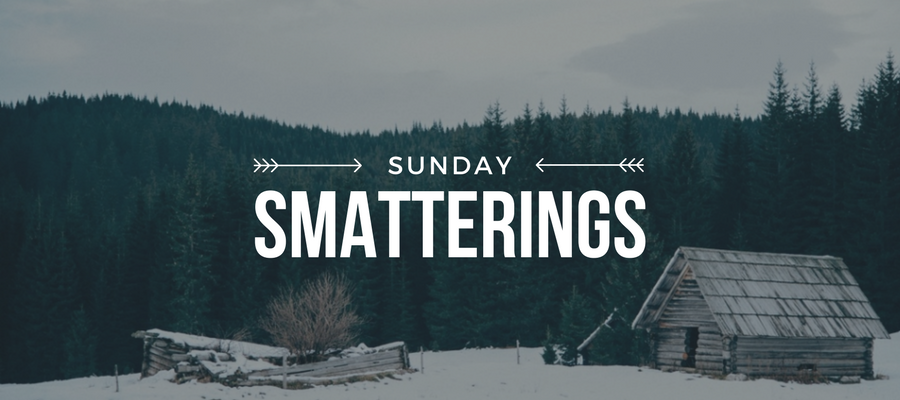 Sunday Smatterings 1.22.17