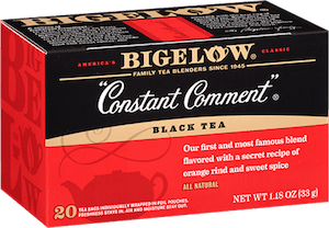 Constant Comment Bigelow tea