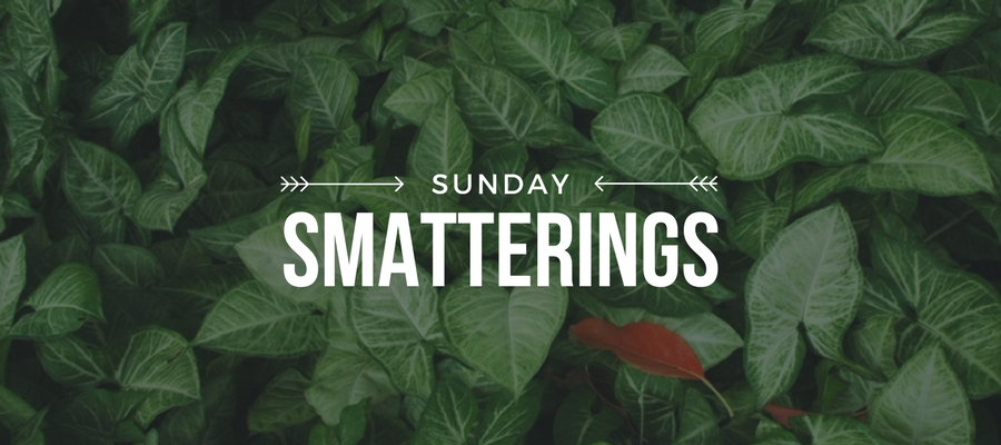Sunday Smatterings 5.14.17