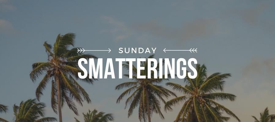Sunday Smatterings 5.28.17