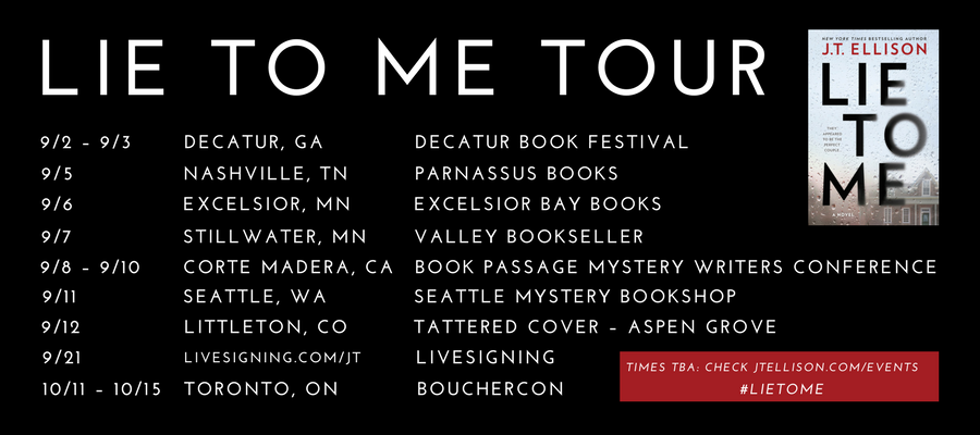 LIE TO ME Tour