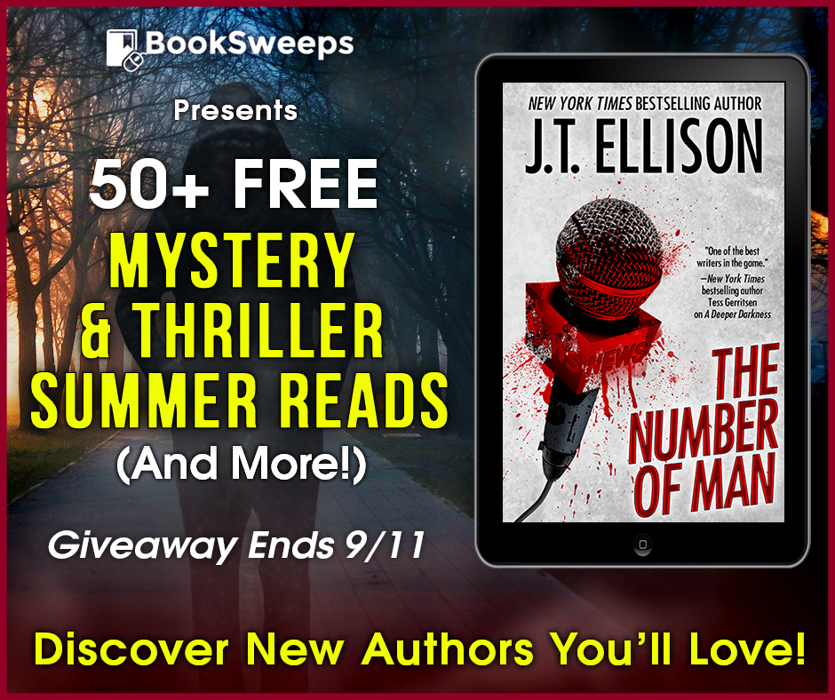 THE NUMBER OF MAN by J.T. Ellison
