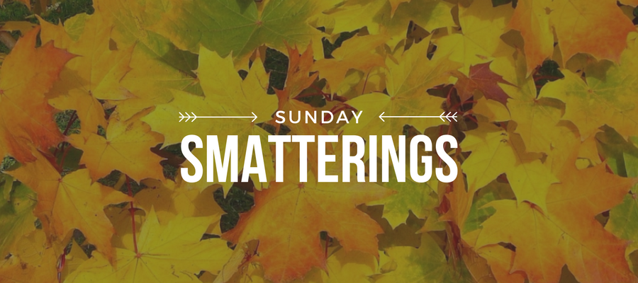 Sunday Smatterings 9.2.17