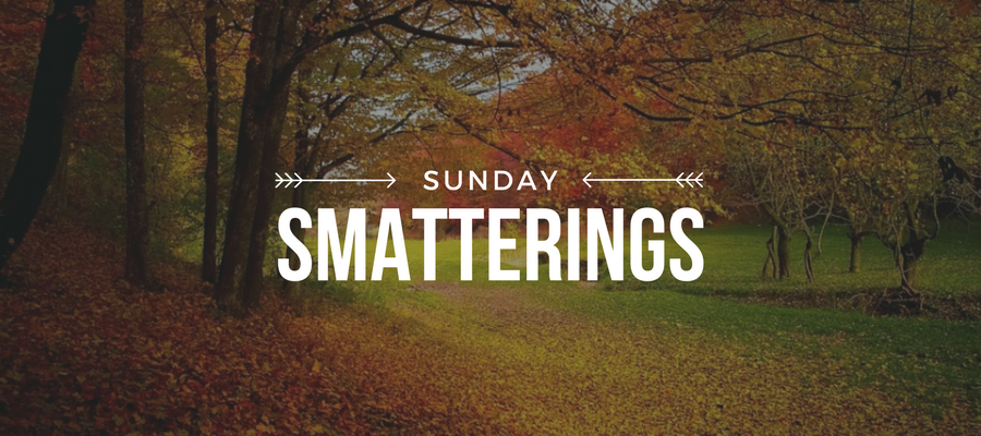 Sunday Smatterings 9.10.17