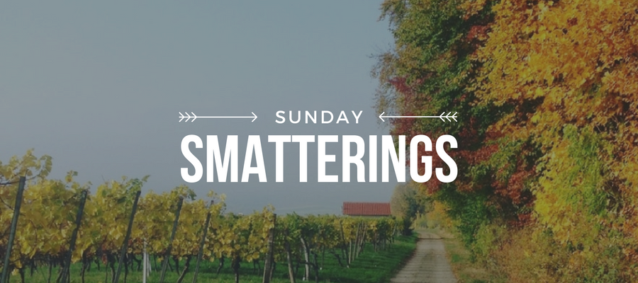 Sunday Smatterings 9.24.17