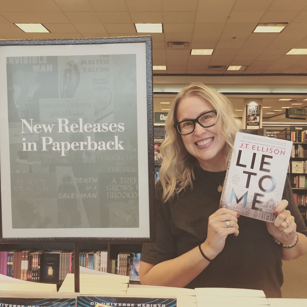 B&N loves LIE TO ME!