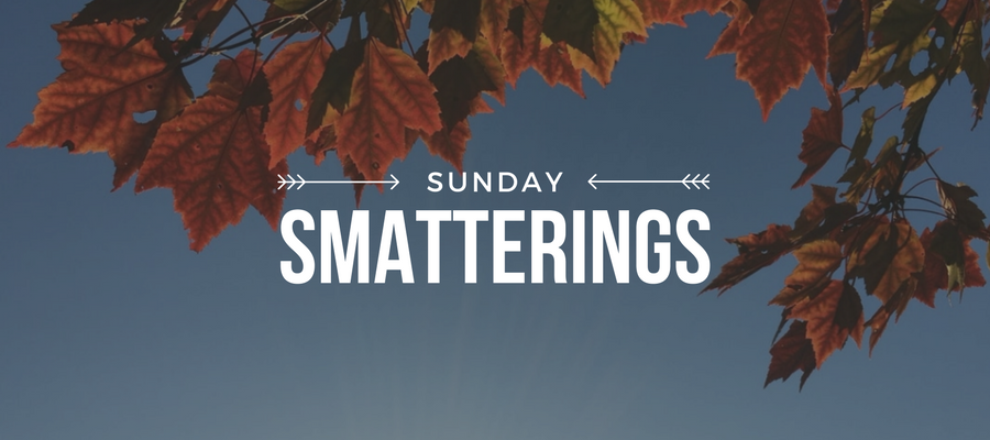 Sunday Smatterings 10.22.17