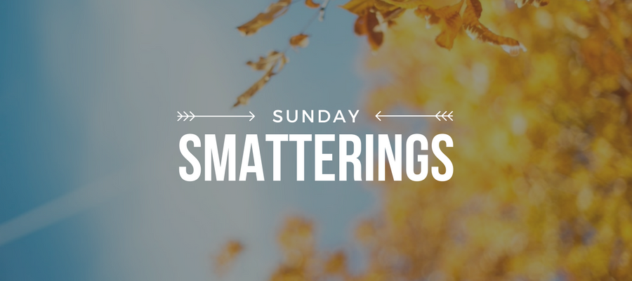 Sunday Smatterings 11.12.17