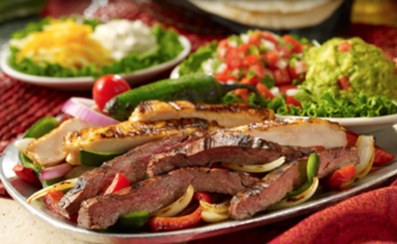 Uncle Julio's fajitas