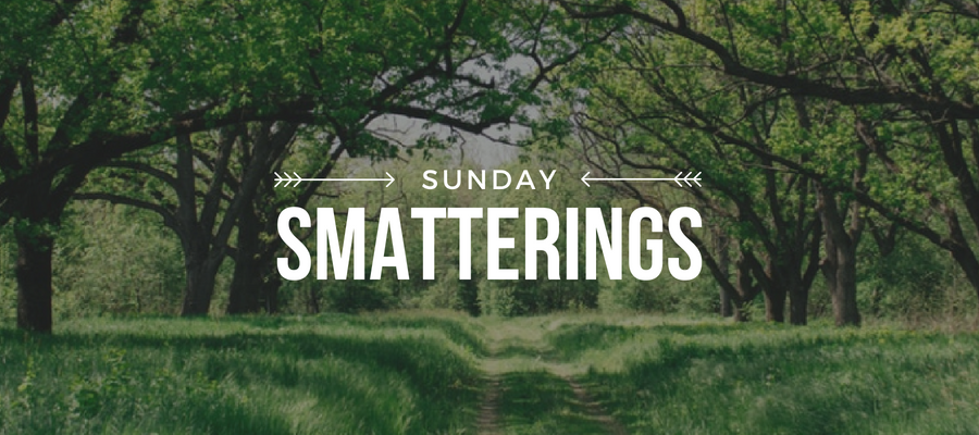 Sunday Smatterings 5.20.18