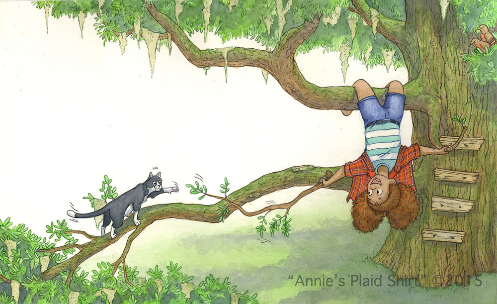 Annie's Plaid Shirt (Stacy B. Davids, Book Bridge Press 2015)