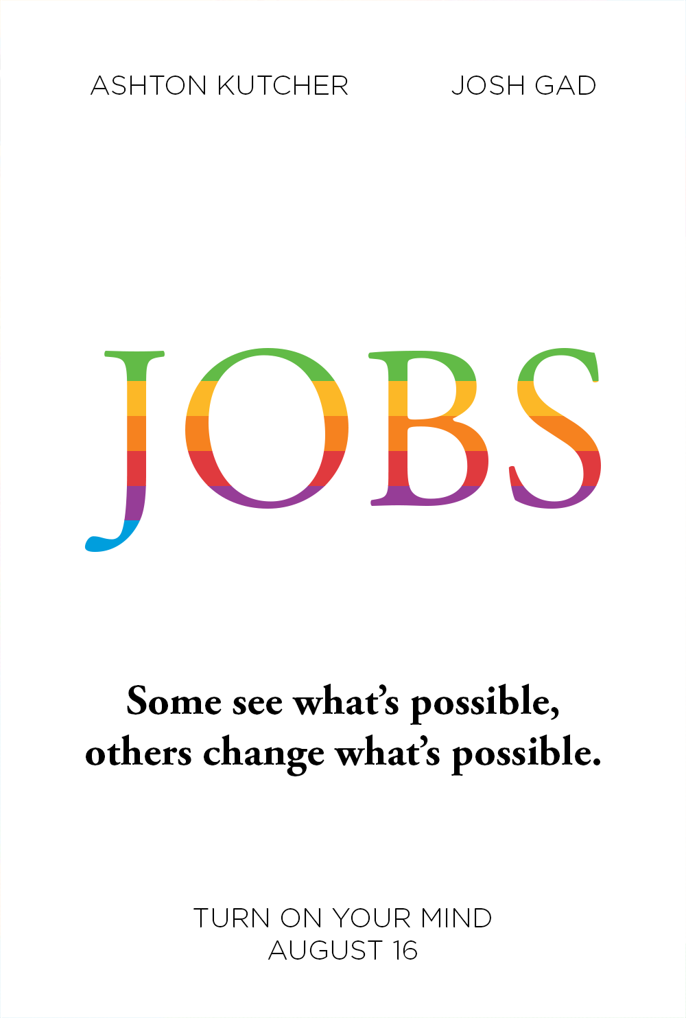 JOBS poster redesign