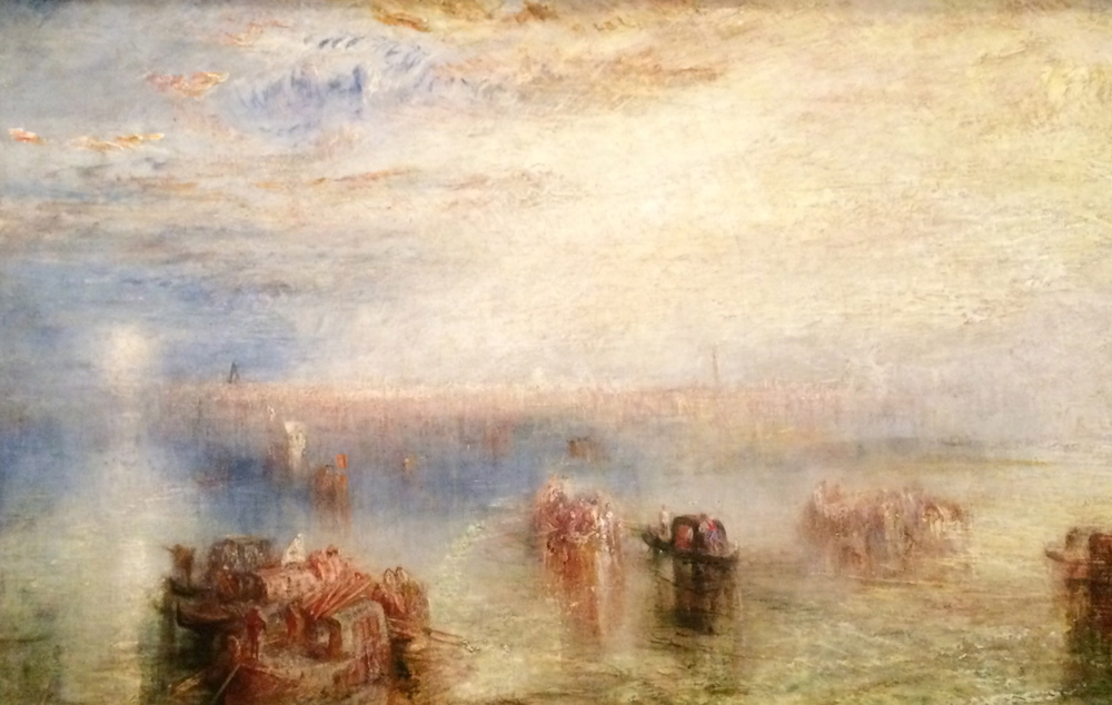 Approach to Venice Oil on canvas; exhibited 1844