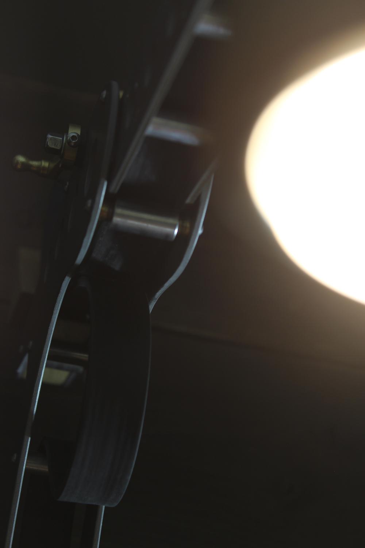 Hawk desk lamp by BLOTT WORKS