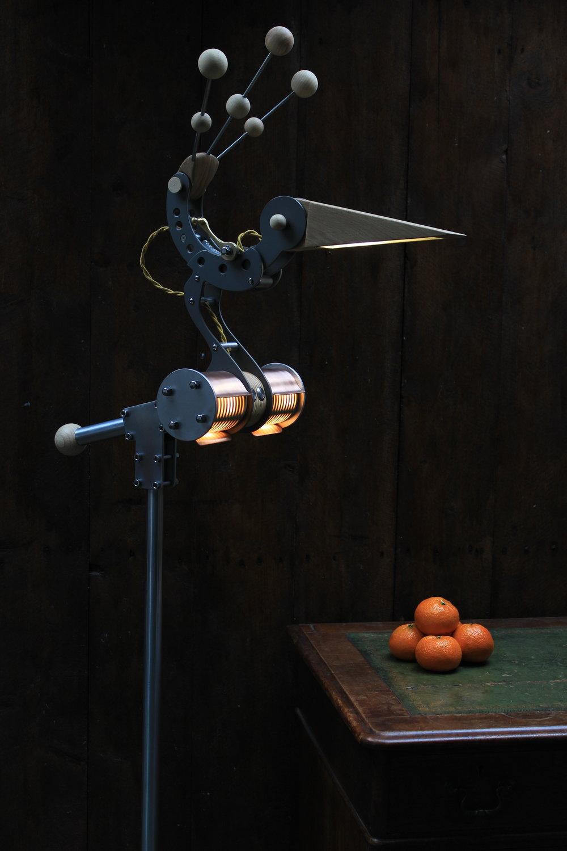 Brand new Mini Bustard floor lamp (with oranges)