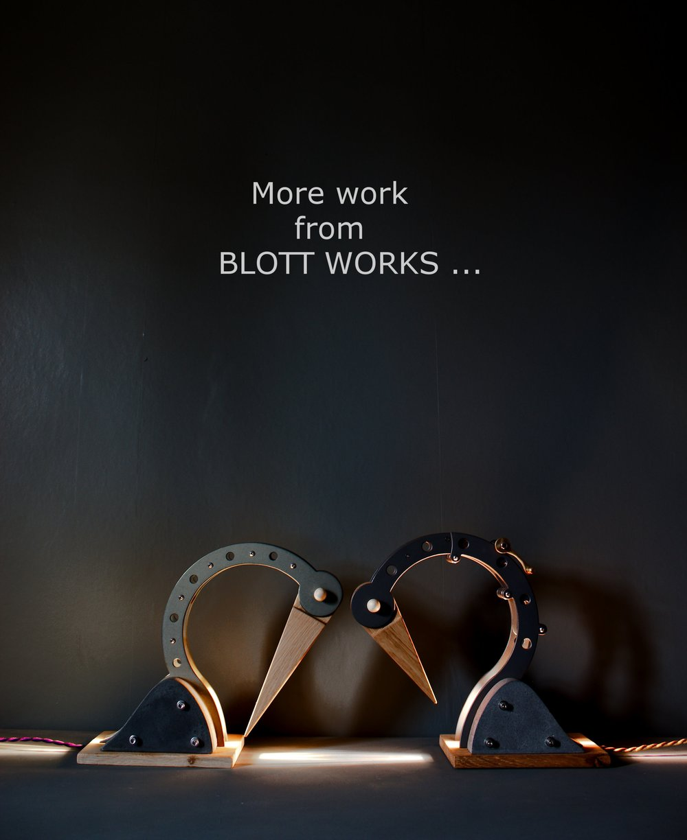 Click here to see more work from BLOTT WORKS -