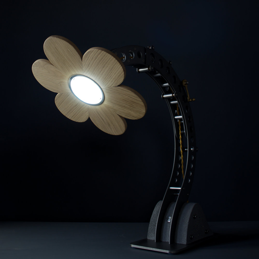 Daisy Crane large sculptural lamp