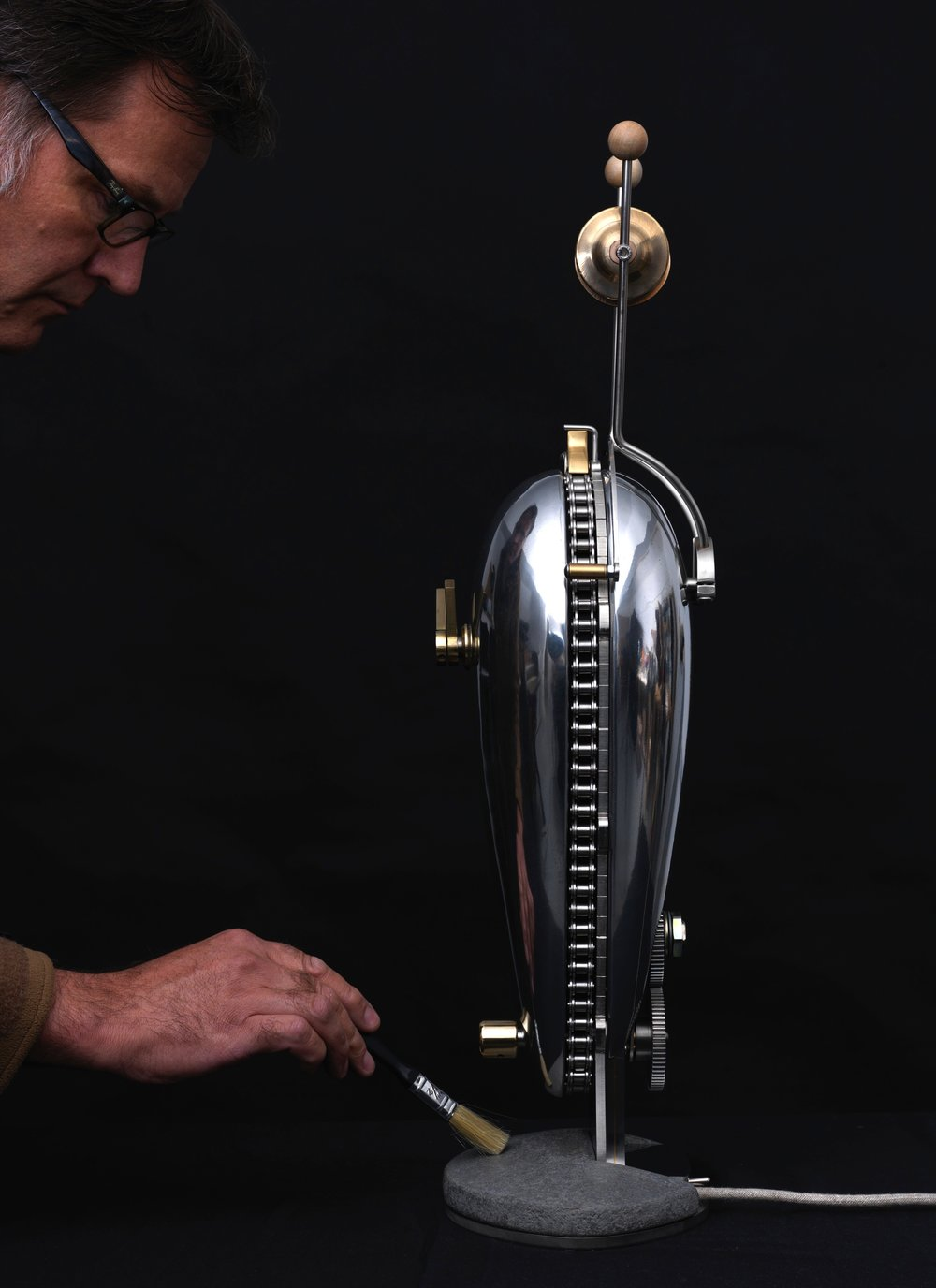 Kinetic clocks -