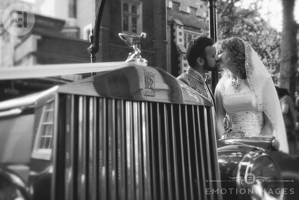 Creative wedding photographers in London
