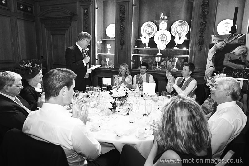 Claire and Mark's London wedding 12th July 2014.
