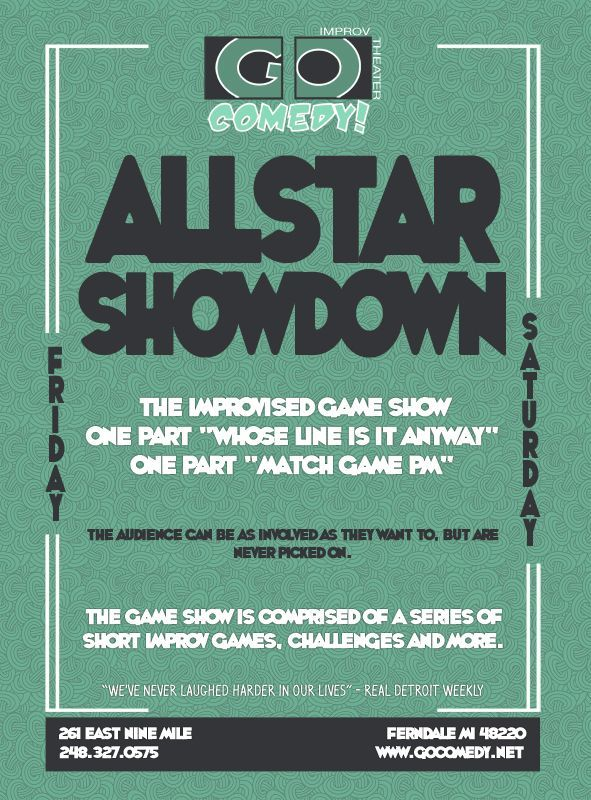 Allstar Showdown Poster