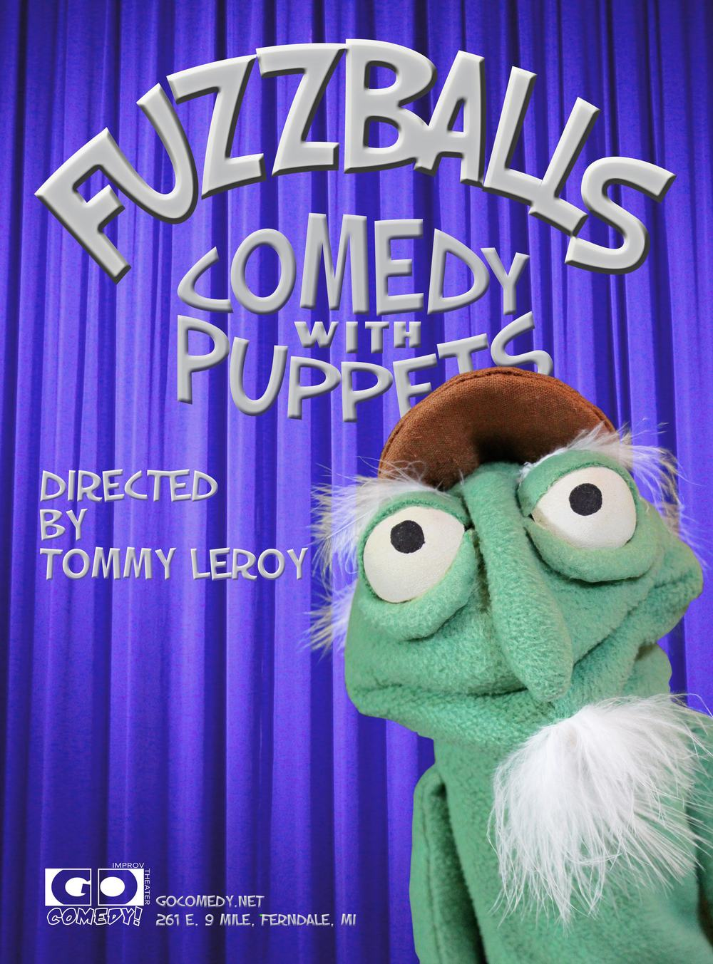 April 17th | 8pm | $18 Taking inspiration from Jim Henson's Muppet Show and His Son, Brian Henson's stage show Puppet Up, Go Comedy! is bringing the felt to the stage with Fuzzballs. Through improv and vignettes, the cast brings the puppet show from the back of the couch to the gleam of the stage. And, let's be honest, who doesn't like it when puppets say dirty things? WSG MARS