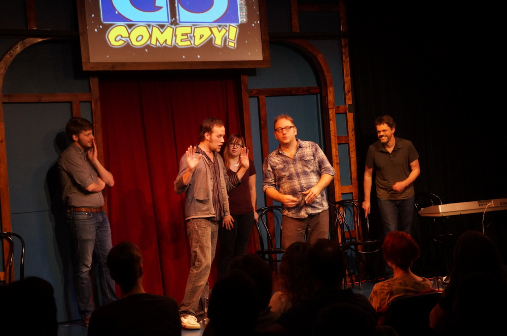 The Go Comedy! Improv Comedy Hour May 20th 10pm FREE! w/ Campfire Tales and Legally Problematic