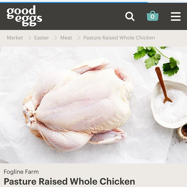 Bay Area friends and supporters, the day has arrived! You can now have our #pastureraisedchicken delivered to your door, fresh, seven days a week. @goodeggs is very supportive of small farmers so check them out at goodeggs.com. Thank you!