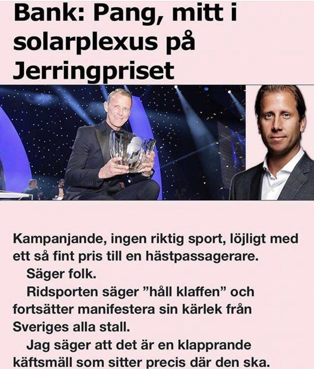Från Aftonbladet i veckan... Hästpassagerare... oj oj oj!!!