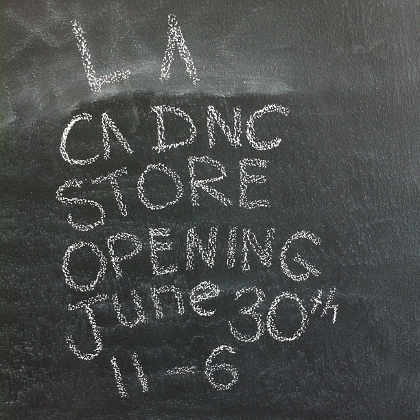 LA store opening! It's official.  (Taken with  Instagram )