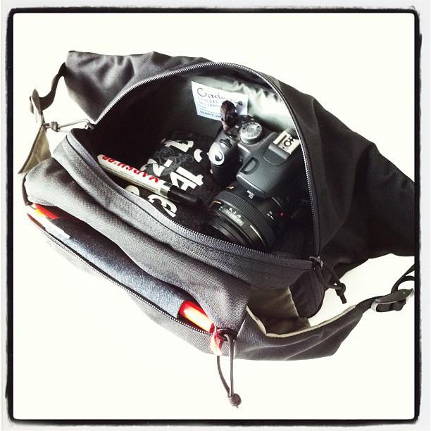 Trekker SLR portage (Taken with  Instagram )