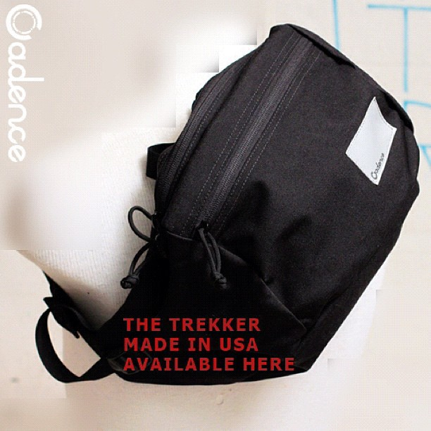 Trekker light weight day pack. Made in USA Military grade construction & materials. Now available in the collection.  (Taken with  Instagram )